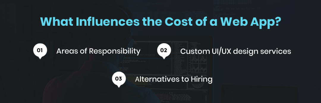 Influences the Cost of a Web App