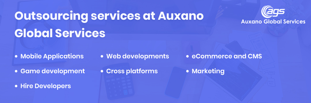 Outsourcing services at Auxano Global Services