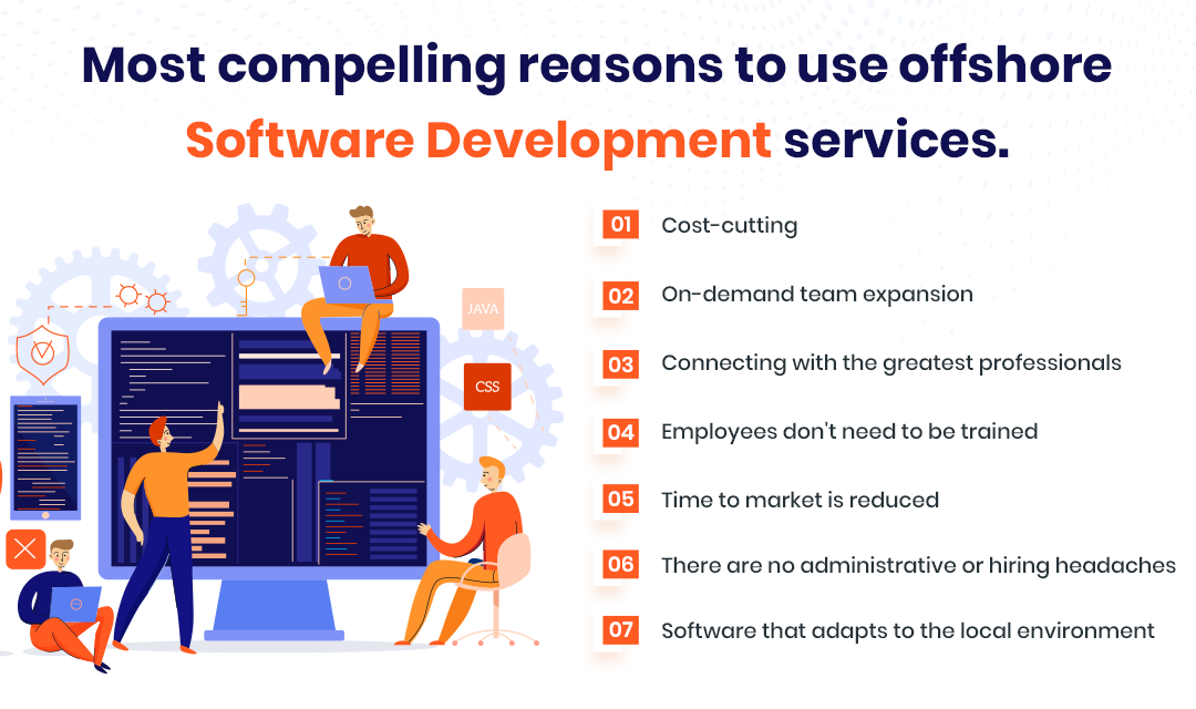 reasons to use offshore software development services