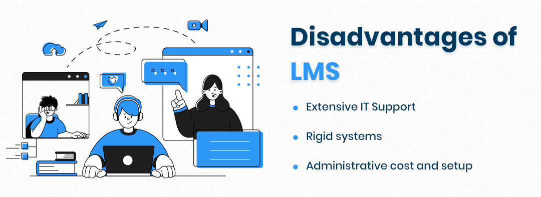 Disadvantages of LMS