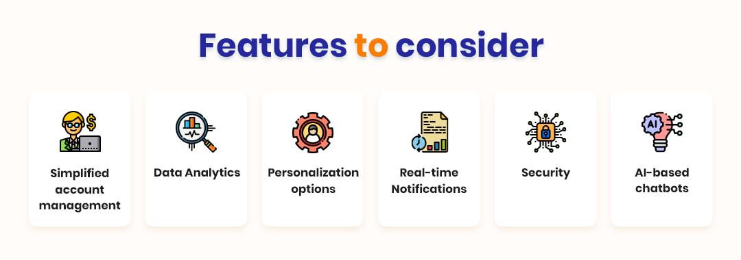 Features to Consider When Developing FinTech App Development