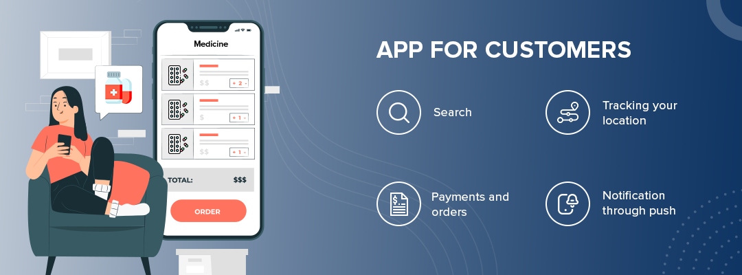App for customers