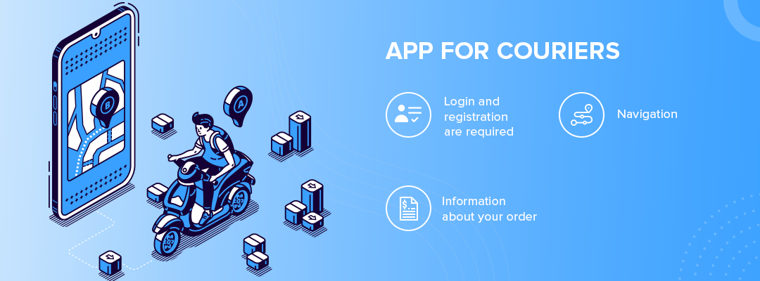 App for couriers