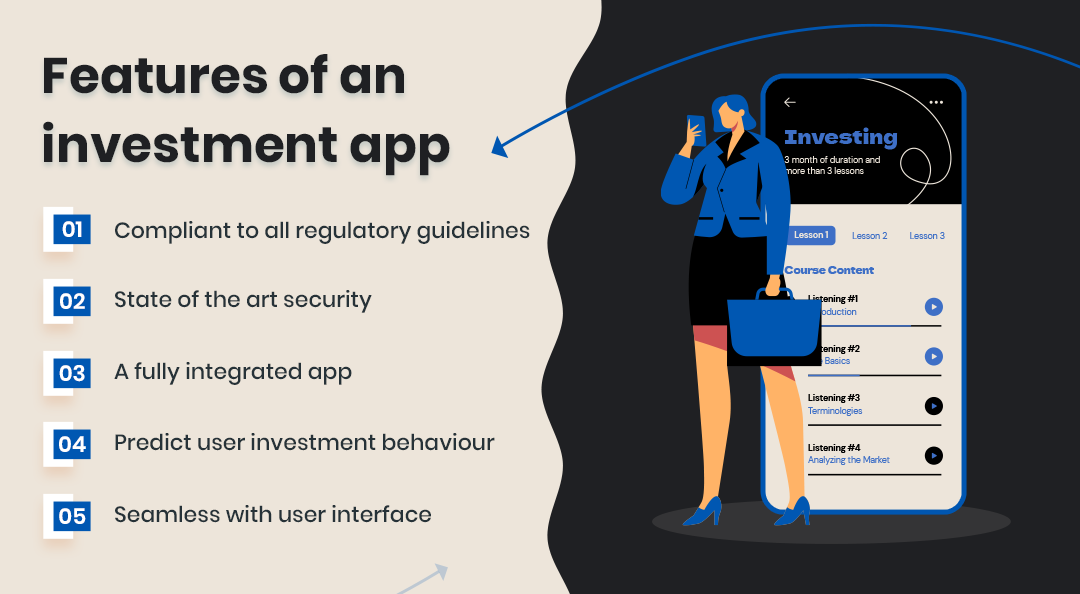 key features of an investment app