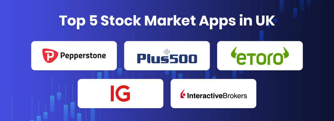 Top 5 Stock Market Apps in UK